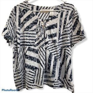 Alfred Dunner Short Sleeved top 2X